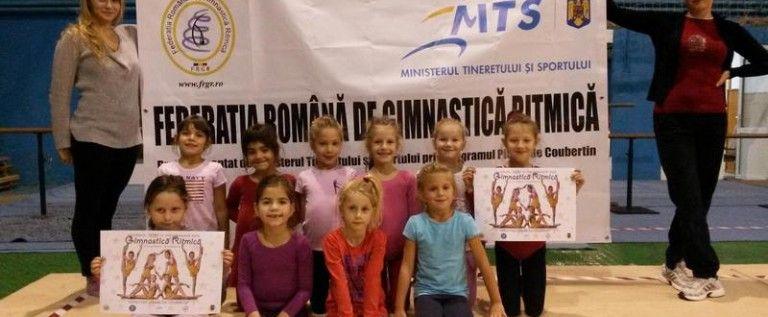 Program de selecţie a copiilor şi în gimnastica ritmică