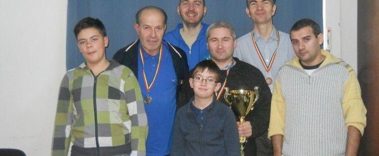 Rodel Rujan este campion judeţean la şah blitz