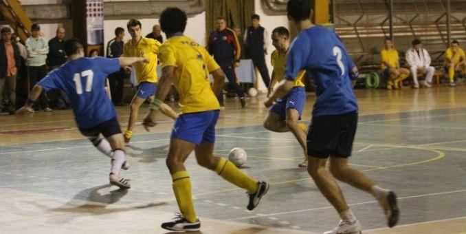 Sîntana găzduieşte primele turnee de fotbal în sală ale anului