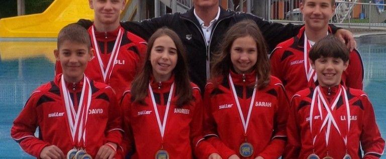 Înotătorii CSM-ului au urcar pe podium în Austria