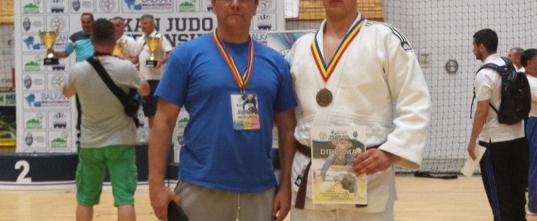 Judoka nădlăcan Marc Boldiş a cucerit bronzul balcanic