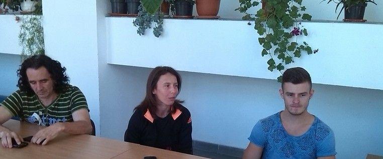 Gimnastul Gabriel Bocşer, mândru să reprezinte CS Universitatea Arad