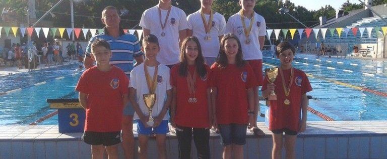 Înotătorii CSM-ului s-au remarcat la un concurs în Ungaria