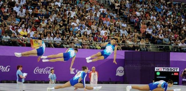 Gimnastul Gabriel Bocşer este medaliat cu argint la Jocurile Europene