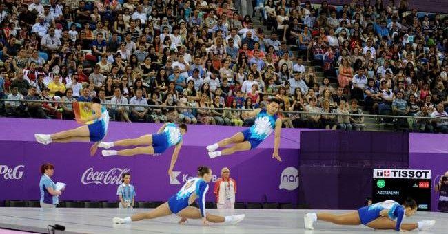 Gabriel Bocşer concurează la Europenele de aerobică