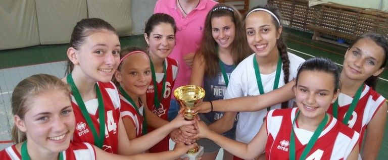 """Fetele de la """"Peda"""" au câştigat Cupa Sportsin la baschet"""