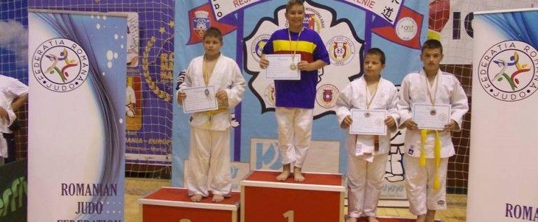 Medalii naţionale pentru micii judoka, la finala copiilor