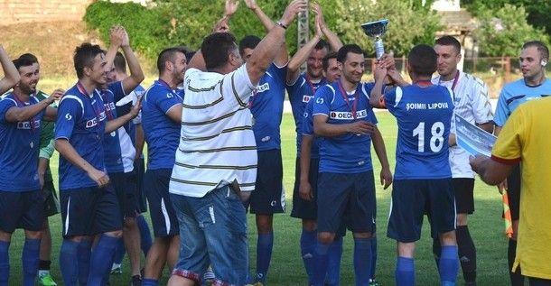 Şoimii Lipova înfruntă miercuri Ineul, în primul tur din Cupa României