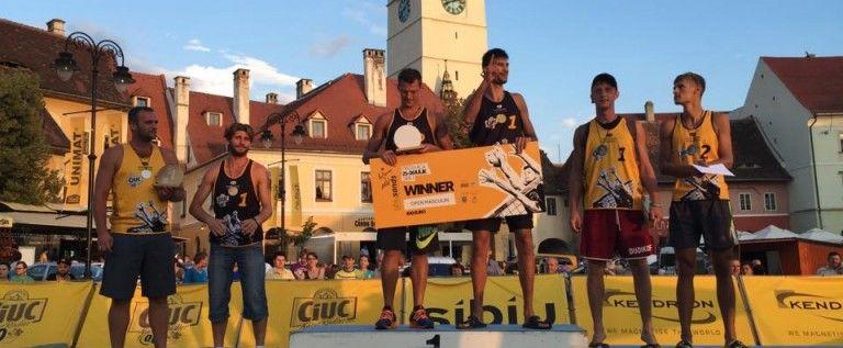 CS Fan Arad a cucerit bronzul la turneul Sibiu Sands 2015