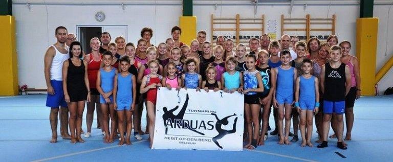 Schimb de experienţă româno-belgian în gimnastica artistică