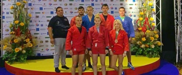 Medalie de bronz mondial pentru Arad la sambo