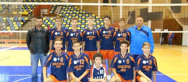 Juniorii de la ProVolei au debutat cu dreptul în campionat