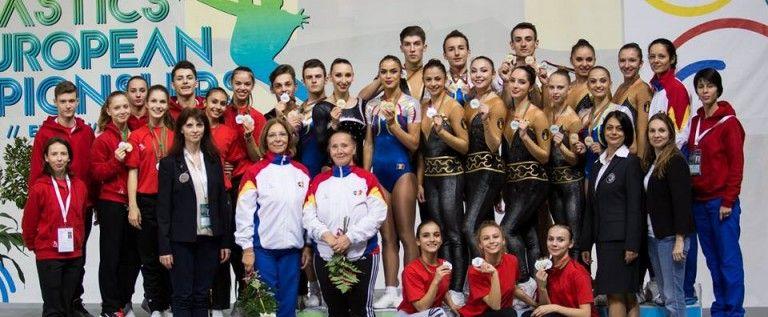 Bocşer şi Morar, medaliaţi la Europenele de gimnastică aerobică