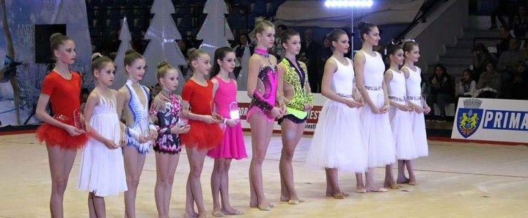 """Gimnastele de la ritmică au concurat la """"Cupa Irina Deleanu"""""""