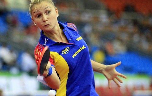Dana Dodean e a doua în topul tenisului de masă românesc