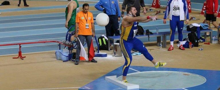 Atletul Andrei Gag, pe podium la Internaţionalele României