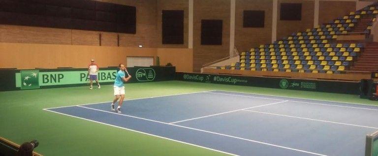 Marius Copil deschide meciul România – Slovenia, din Cupa Davis