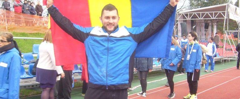 Atletul Andrei Gag va fi portdrapelul României la Europene