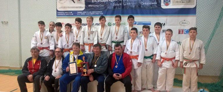 Micii judoka arădeni au urcat pe podium la Naționale