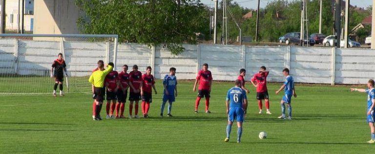 Au rămas trei în cursa pentru câștigarea campionatului: Frontiera Curtici – Crișul Chișineu Criș 1-1 (0-0)