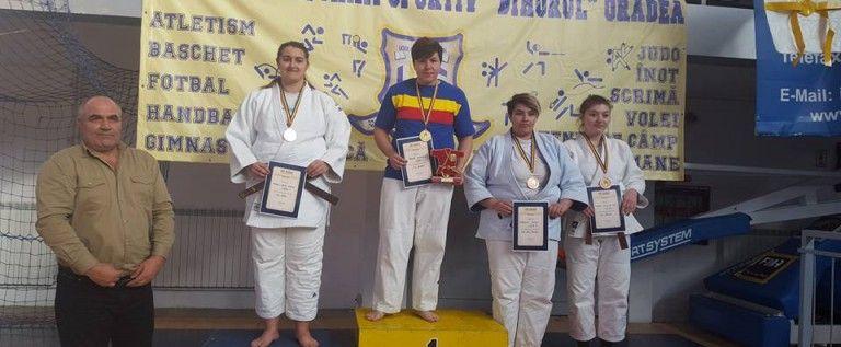 Diana Tomuț a cucerit argintul național pe tatami