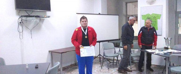 Cristian Mărcoşan s-a remarcat la etapa naţională de glonţ