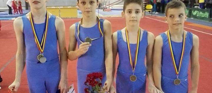 Gimnaştii LPS-ului au cucerit medalii la Naţionale