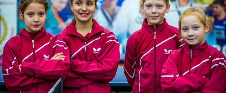 Speranţe de viitor în tenisul de masă arădean