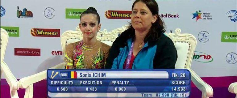 Sonia Ichim a debutat pozitiv la Campionatele Europene