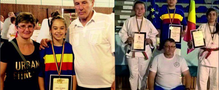 Micii judoka de la CSM Arad s-au remarcat pe tatami