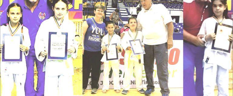 Micii judoka au cucerit noi medalii naţionale pe tatami