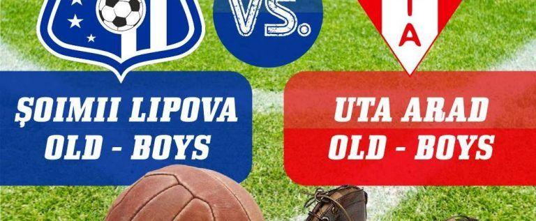 Revedere ca-ntre old-boys! UTA a onorat invitaţia Lipovei