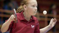 Aradul îşi pune speranţe în tenisul de masă juvenil