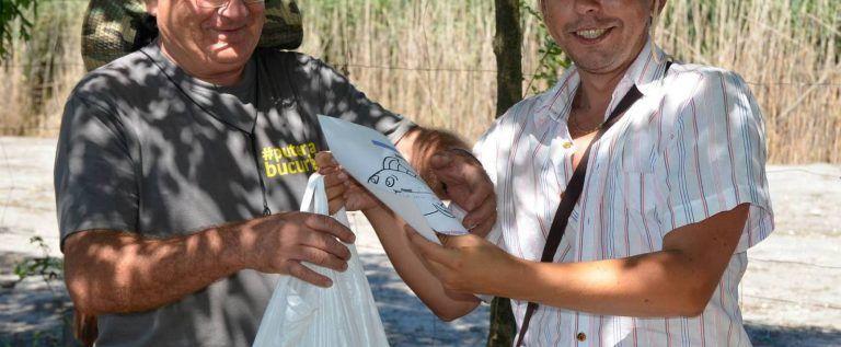 Balta de la Sânpaul a găzduit Cupa Presei la pescuit