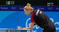 Rio 2016: Dodean e în turul trei, după 4-1 cu chinezoaica Li Qian!