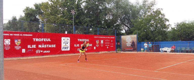S-a stabilit careul de aşi la ITF Arad. Laura Andrei luptă pentru trofeu