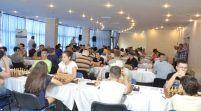 Participare numeroasă la festivalul de şah al Aradului