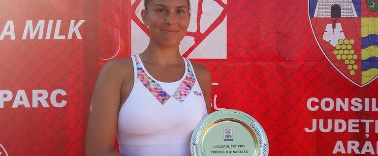 O tenismenă slovacă s-a impus la turneul ITF de la Arad