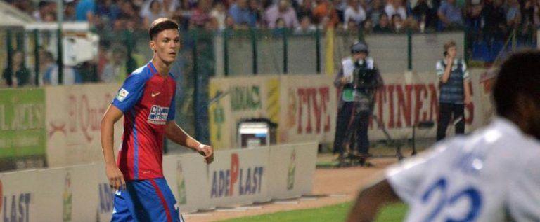 Ex-utistul Man a marcat primul gol pentru Steaua