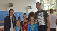 Micile gimnaste ale CSM-ului, medaliate la Naţionale
