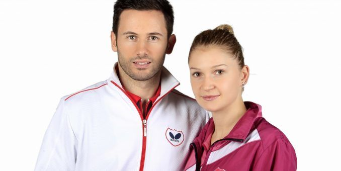 Soţii Monteiro, medaliaţi la Europeanul de tenis de masă!