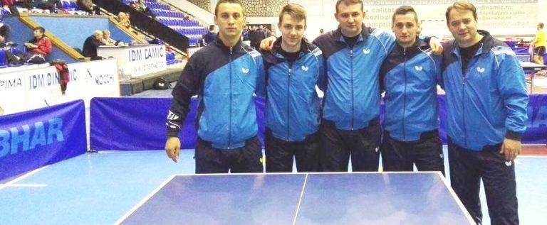 CSM Arad e lider în liga secundă la tenis de masă