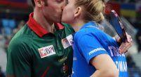 Sărutul victoriei: Dana şi Joao Monteiro sunt finalişti europeni!