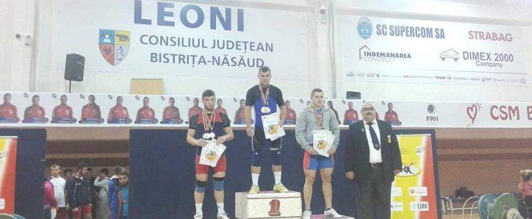 Şase medalii la tineret pentru halterofilii de la CSM Arad
