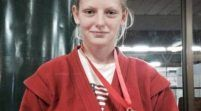 Două judoka arădene, medaliate mondiale la sambo!