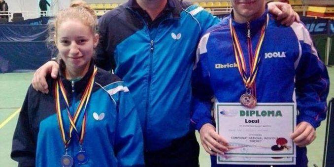 Andreea Fistyulof, dublu vicecampioană naţională de tineret