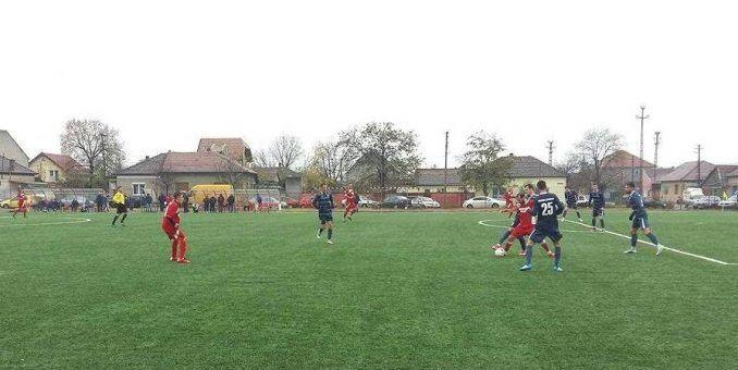 Lipova învinge în derby, cu un gol la ultima fază!