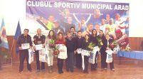 CSM Arad şi-a premiat, în cadru festiv, sportivii de top în 2016!