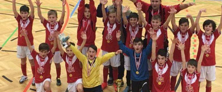 """""""Piticii"""" de la Viitorul Arad, învingători la Graz"""