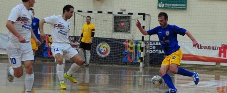 Şimandul înfruntă, în Cupa României, campioana ţării la futsal
